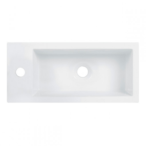 Aspen™ Compact 50 Walnut Floor Mounted Vanity Basin Unit