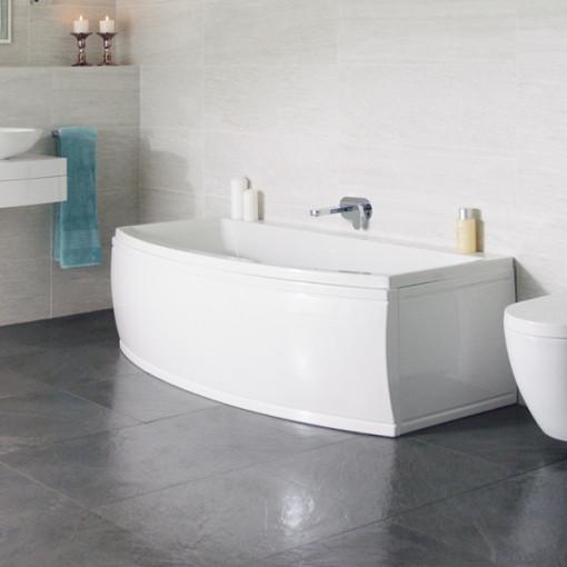Magnus Bow Front 1700 x 850 x 650 Bath