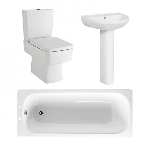 1700 Steel Bath Madison Bathroom Suite
