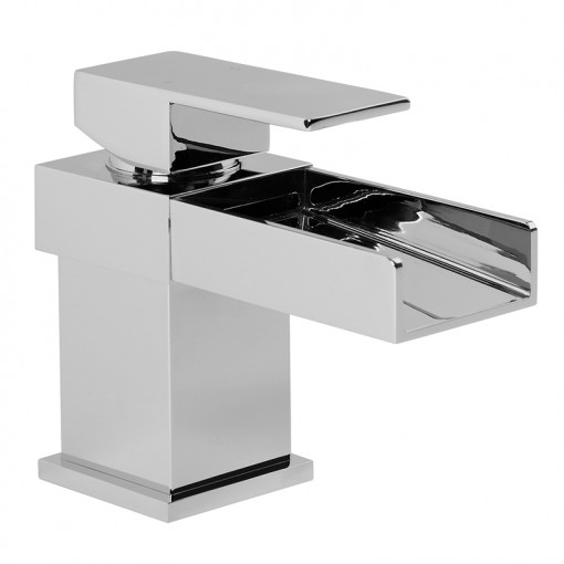 Sanctuary Waterfall Tap Pack with Basin Waste