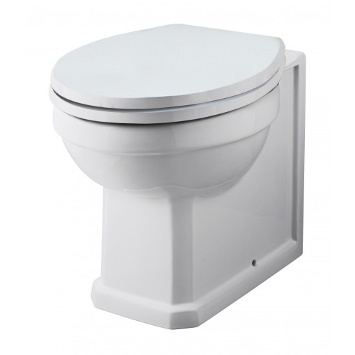 Nottingham White WC Unit with Park Royal™ Back to Wall Toilet