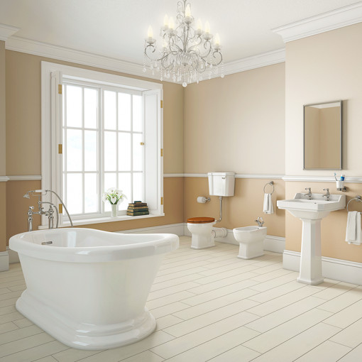 Park Royal™ Traditional 1700 Low Level Three Piece Bathroom Suite