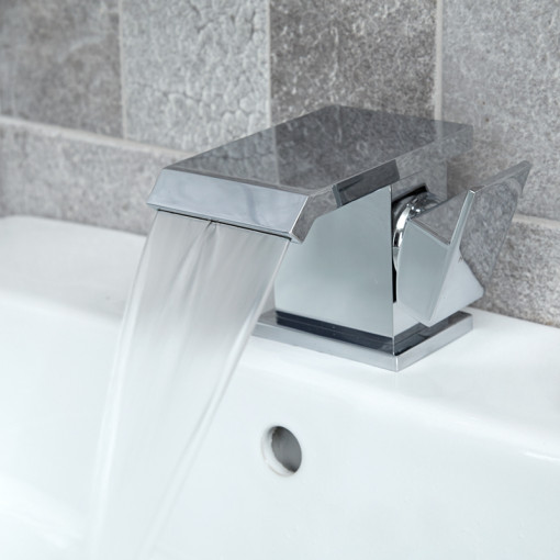 Aqua Waterfall Basin Mixer Tap