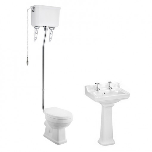Park Royal™ High Level Traditional Toilet & 500 Basin Suite