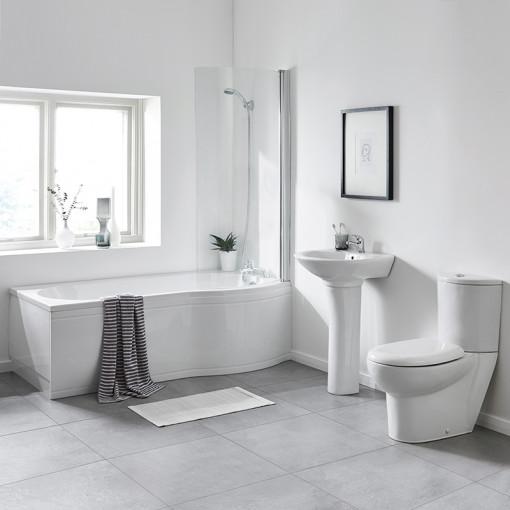 1700 Prima Right Hand Shower Bath Suite