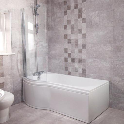 Windsor™ 55cm Left Hand Shower Bath Suite