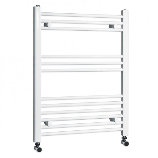Beta Heat Electric 760 x 600mm Straight White Heated Towel Rail
