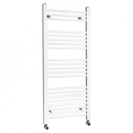 Beta Heat Electric 1150 x 500mm Straight White Heated Towel Rail