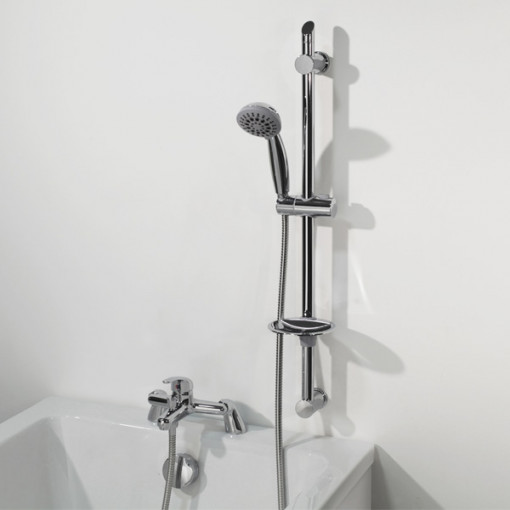 Alfa Bath Shower Mixer with Slide Rail Kit