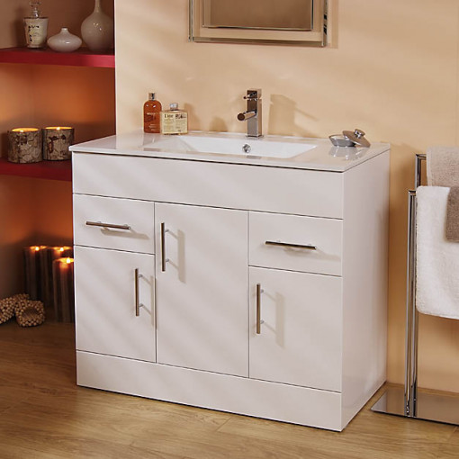 Aspen™ 90cm Vanity Unit & WC