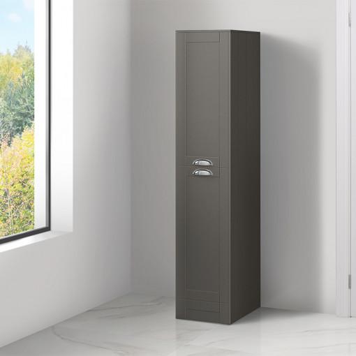 Nottingham Grey Tall Boy Storage Unit