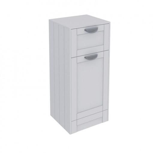 Nottingham White Single Door & Drawer Storage Unit