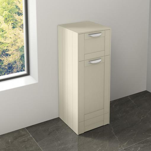 Nottingham Ivory Single Door & Drawer Storage Unit