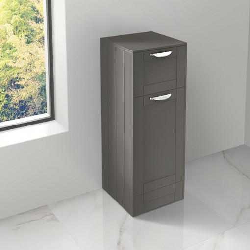 Nottingham Grey Single Door & Drawer Storage Unit