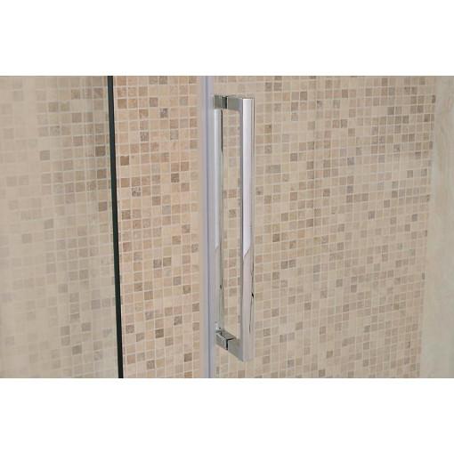 Aquafloe™ Elite ll 8mm 1200 x 800 Easy Clean Frameless Sliding Enclosure with Shower Tray