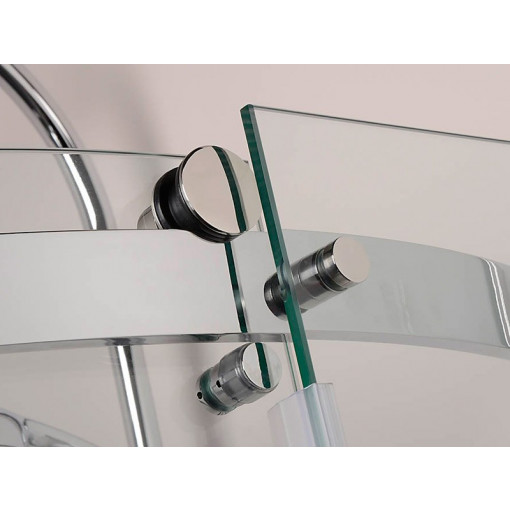 Aquafloe™ Elite ll 8mm 1200 x 800 Frameless Left Hand Offset Quadrant Enclosure