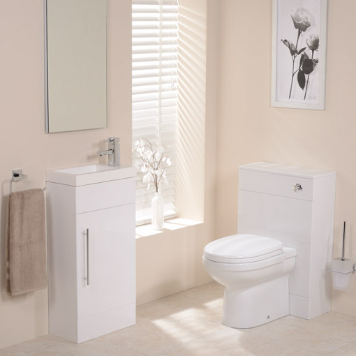 Aspen™ White Impressions 410 Cloakroom Pack