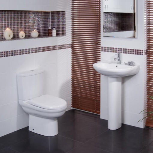 Micro™ Short Projection Bathroom Suite
