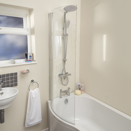 1700 Prima Left Hand Shower Bath Suite