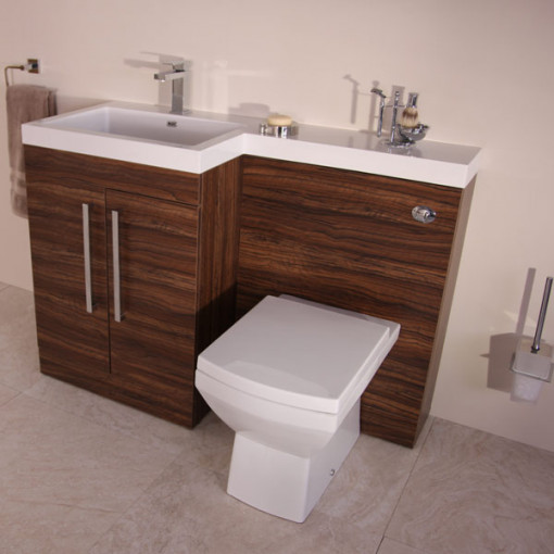 Tabor™ 120cm Walnut Left Hand Combination Unit