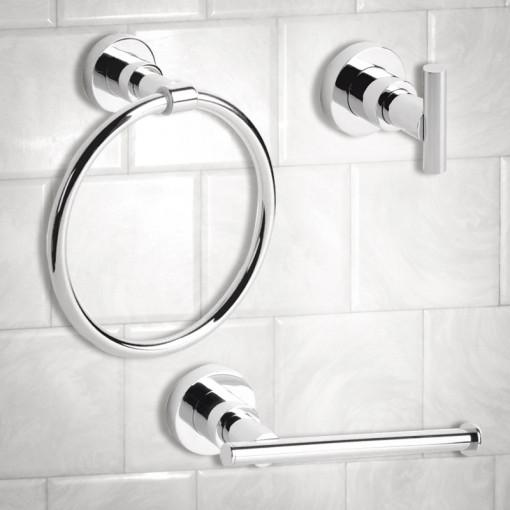 Ice 3 Piece Bathroom Accessory Pack