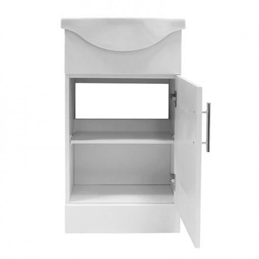 Windsor™ 45 White Vanity Basin Unit