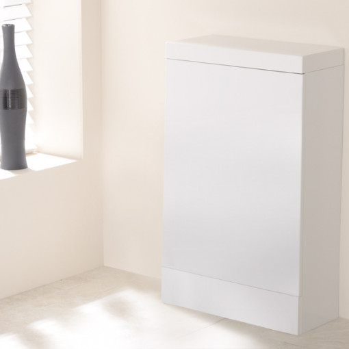TD50 White WC Unit with Tabor™ Pan