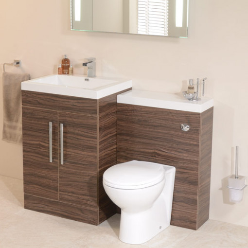 TD60 Luxury Walnut Combination Unit with Sofia Pan
