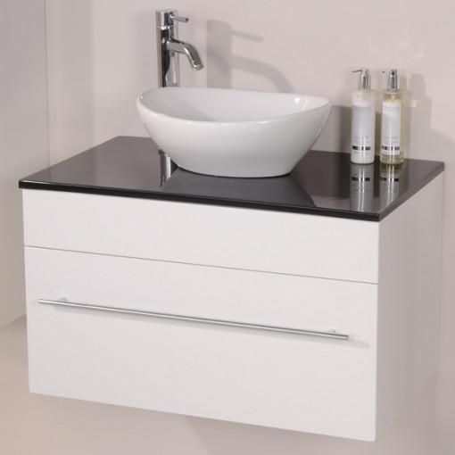 Aspen™ 75 Black Sparkle Shell Vanity Set