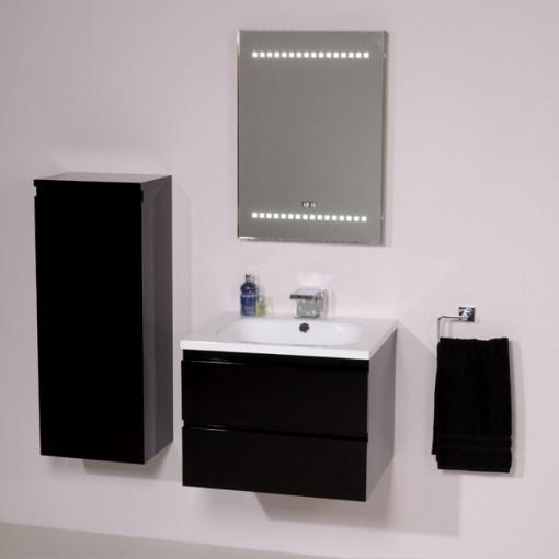 Barcelona 600 Black Vanity Unit