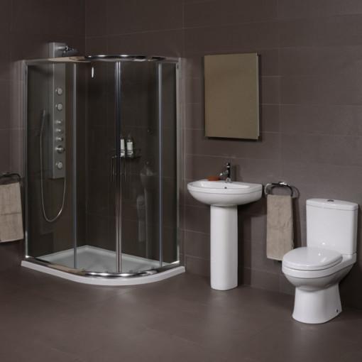 Impressions 1200 Shower Cubicle Suite