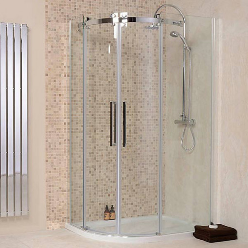 Aquafloe™ Elite ll 8mm 1200 x 800 Frameless Right Hand Offset Quadrant Enclosure