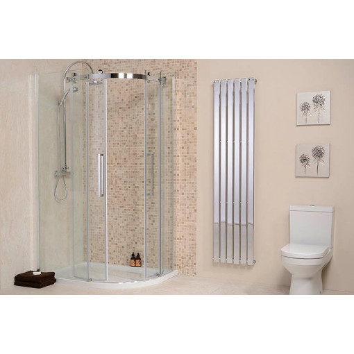 Aquafloe™ Elite II 8mm 1200 x 900 Frameless Left Hand Offset Quadrant Enclosure