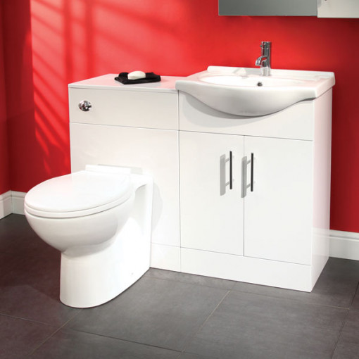Windsor™ 65 White Combination Unit