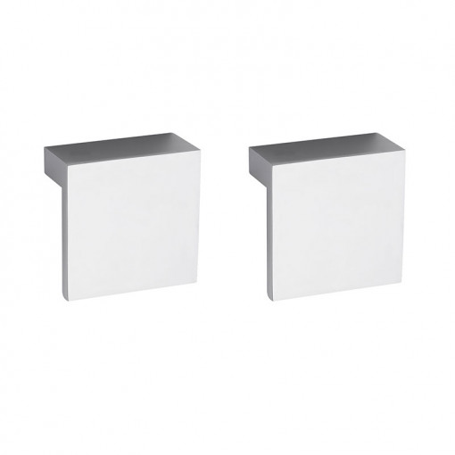 Austin 600mm Grey Gloss Wall Hung Two Drawer Vanity Unit