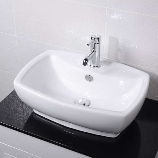 Luma 800 Wall Mounted Basin Vanity Unit with Basin Mixer Tap