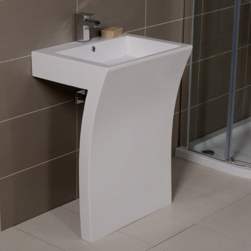 contemporary bathroom basins seven freestanding basin 12429