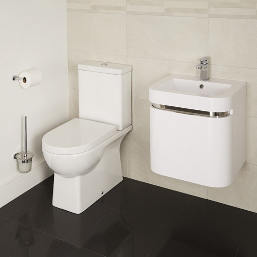 Modena Murcia 50 Wall Mounted Vanity Drawer Unit Suite