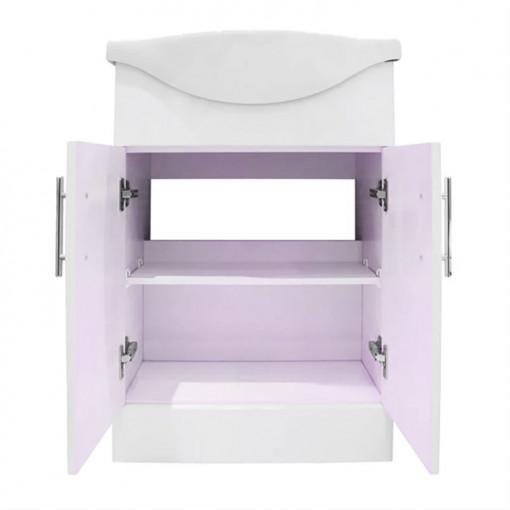 Windsor™ 65 White Vanity Basin Unit