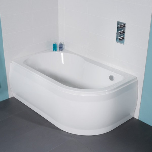 Luxury Bath with Ravenna Two Piece Bathroom Suite inc Taps & Waste