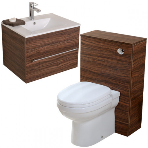 Impressions Aspen™ 600 Walnut Back To Wall Suite