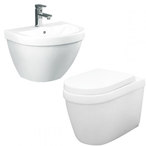 Aurora Back To Wall Bathroom Suite
