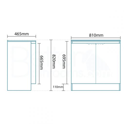 Voss™ 810 Door Combination Unit
