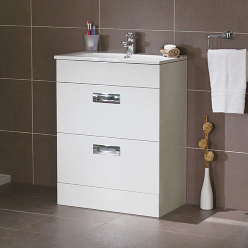 Aspen™ Compact 600 Floor Mounted 2 Drawer Combination Unit
