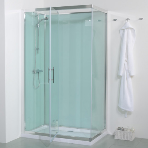 Open shower dimensions