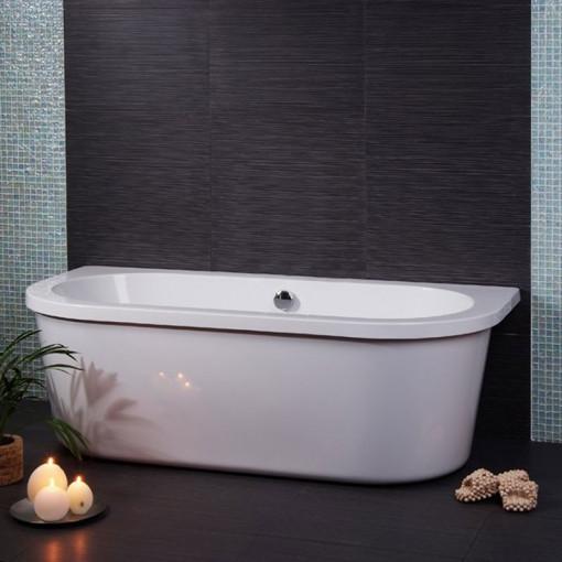 Dee 1685 X 780 Freestanding Bath With Surround
