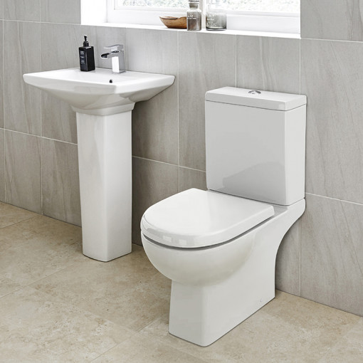 Salou 60 Full Pedestal Bathroom Suite