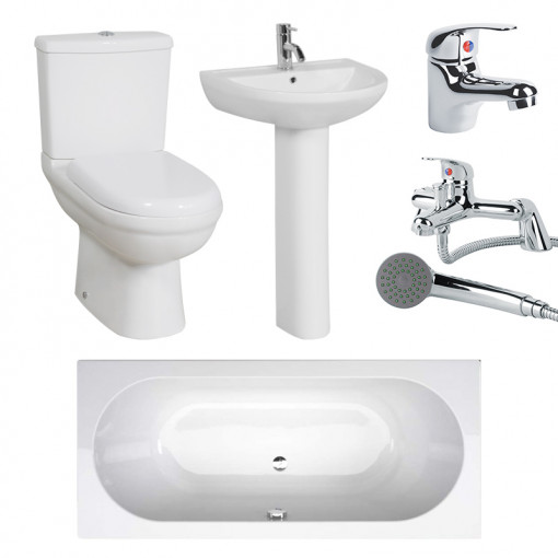 1700 Micro™ Duo Double Ended Bath Suite Deal
