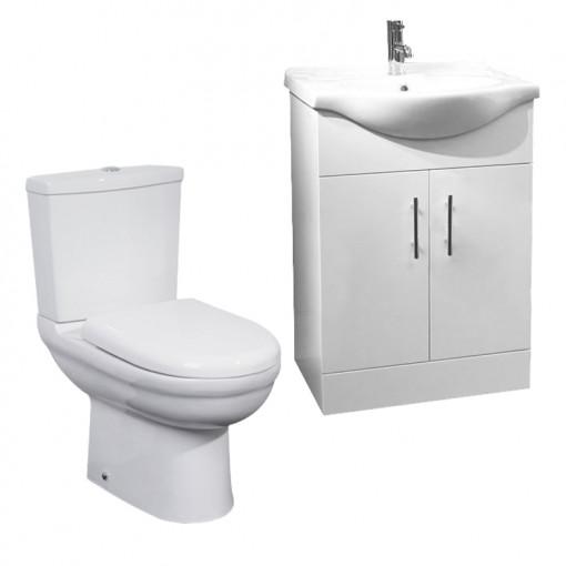 Madison 65 White Furniture Pack