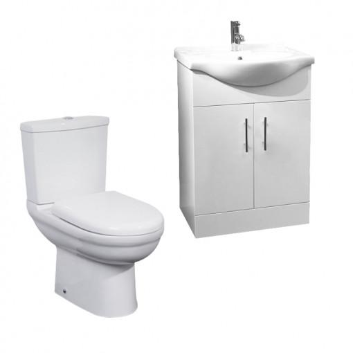 Madison 55 White Furniture Pack